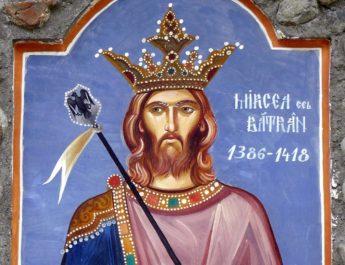 Mircea cel Bătrân, conducătorul abil al oştilor sale, de la atacul în Karinovasi la apărarea din Rovine