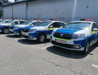40 de maşini noi pentru poliţiştii argeşeni